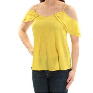 Bar III - Cold Shoulder Top